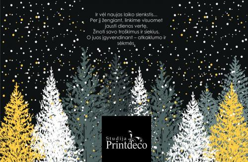 Kalėdinis atvirukas EL0139