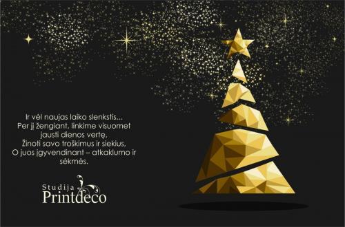 Kalėdinis atvirukas EL0141